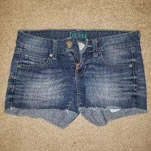 Decree jean shorts